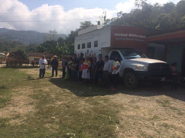 Caravana de Salud del Diputado Irineo Molina llega a Tlacoatzintepec y Usila