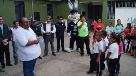 Inculca Policía Preventiva Municipal valores en niños y jóvenes