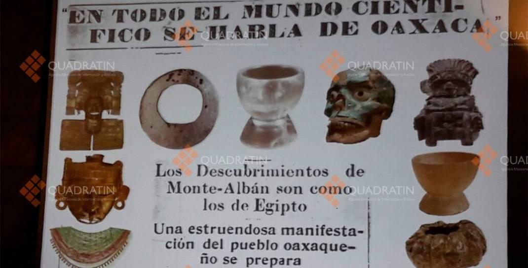 Imparte INAH Oaxaca conferencia sobre Tumba 7 de Monte Albán