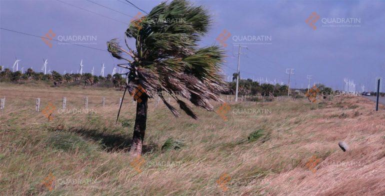 Con la fuerza de un huracán 3 las rachas de viento en el Istmo