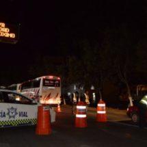 APLICA POLICÍA VIAL OPERATIVO ALCOHOLÍMETRO PARA REDUCIR ACCIDENTES DE TRÁNSITO Y AFECTACIONES A LA CIUDADANÍA