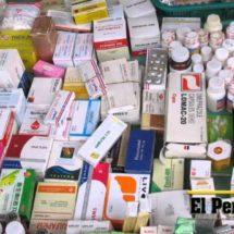 Tienen un control en medicamentos para que no haya caducados: Fabio Cortes Joaquín.