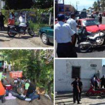 Alertan sobre aumento de accidentes en motocicleta en Pinotepa Nacional
