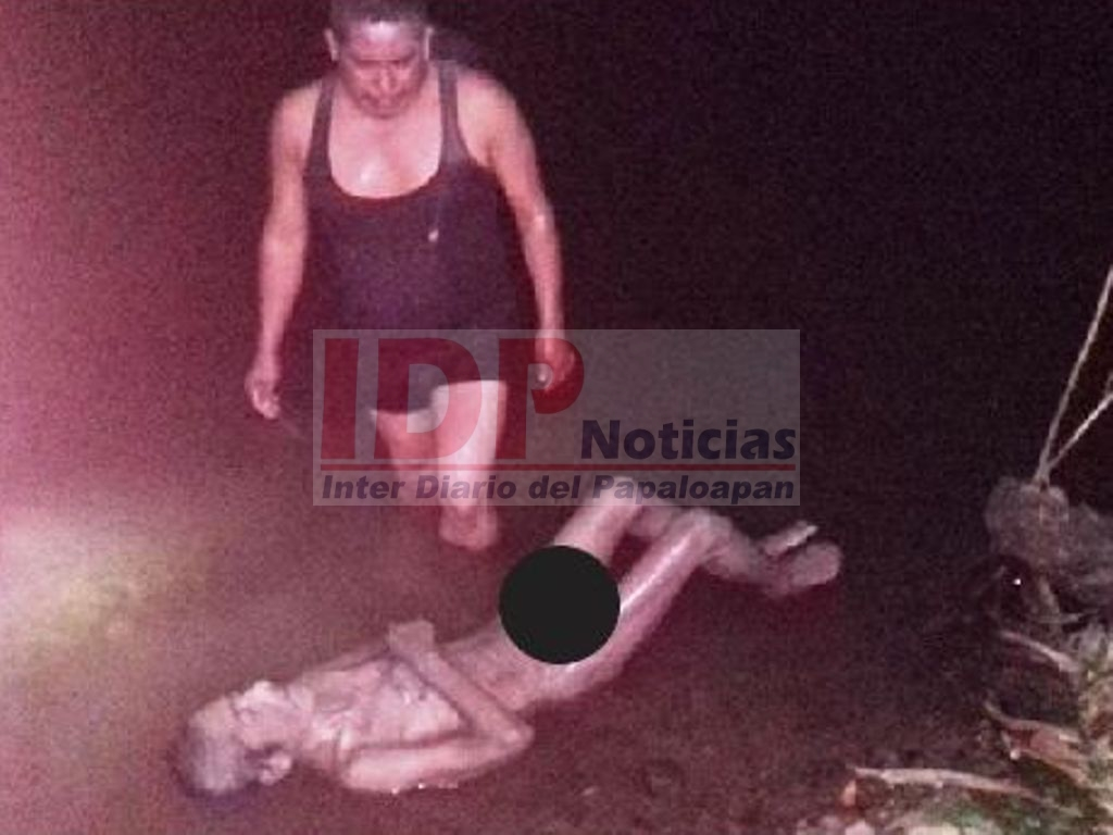 Anciano muere ahogado en Jalapa de Díaz