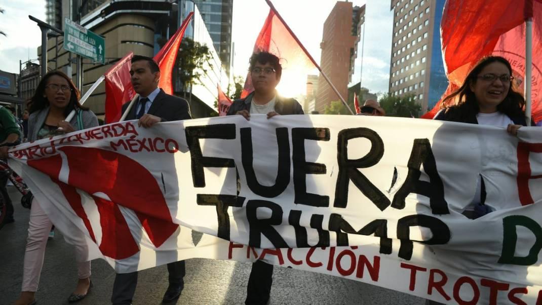 Mexicanos convocan a marcha para protestar contra nuevas políticas de Donald Trump