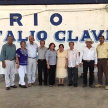 Conmemoran aniversario luctuoso de Natalio Clavel Mendoza