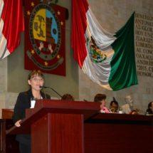Agradece Leslie Zavaleta voluntad para atender conflicto entre Colotepec y Mixtepec