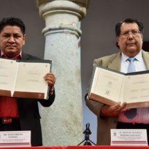 Suscribe convenio Poder Legislativo con  el Instituto de Ciencias Jurídicas de Oaxaca