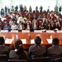 Recibe Congreso del Estado al X Parlamento Infantil