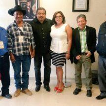 Legisladora de la Sierra Sur y SEGEGO se reúnen con autoridad de Sola de Vega