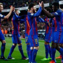 Barcelona 'destruye' al Celta y recupera la cima en España