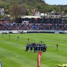 Afición 'apapacha' a Cruz Azul en el Estadio 10 de diciembre