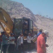 Campesinos rechazan instalación de subestación del parque eólico