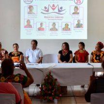 Mujeres alcaldesas hablan de su participación política