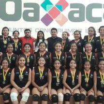 Continúan las felicitaciones al Club Colegial de voleibol por triple medalla de oro
