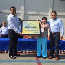 """Entregan Certificados """"Entorno saludable""""  a Centros de Reinserción Social en Tuxtepec"""