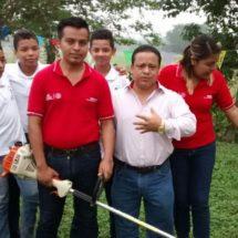 Continua Fentanez proyecto de dignificación de escuelas de Tuxtepec
