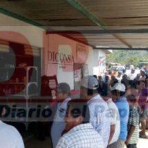 Roban la tienda Diconsa de la colonia Catarino Torres Pereda