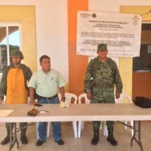 Instalan módulo de canje de armas de fuego en la Costa
