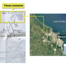Así se descubrió la fosa clandestina más grande de México a partir de un mapa dibujado a mano