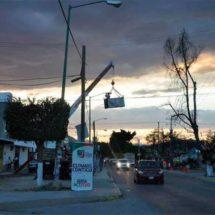 Compromiso cumplido, se cambiaron después de 9 años las luminarias de Avenida el Rosario: Raúl Cruz