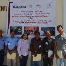 Inicia IOAM-UTM capacitaciones del FAM a migrantes retornados