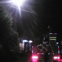 Ayuntamiento ilumina Tuxtepec