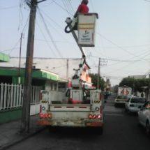 Una ciudad iluminada, sinónimo de seguridad: Gobierno de Tuxtepec