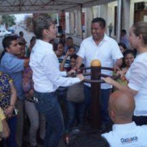Gobierno Municipal entrega ejercitadores para dos colonias de Tuxtepec