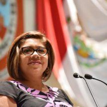 Atristain Orozco se pronuncia por la  erradicación de la violencia en agravio de las mujeres