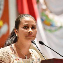 Exhorta Paola Gutiérrez a la SMO informar sobre acciones implementadas frente a violencia de género en Oaxaca