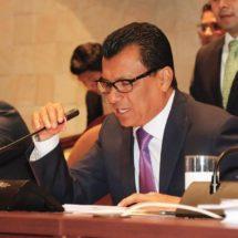 Se reúne Samuel Gurrión con autoridades de Temaxcalapa