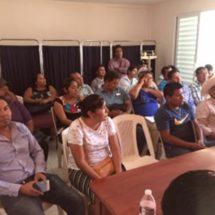 Irineo Molina implementa taller de gestión ba municipios del distrito 3