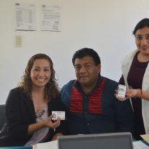 Al recibir acreditación en Oaxaca… Refrenda María Luisa Vallejo García trabajo por  la inclusión e igualdad