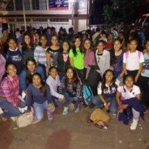 Parte delegación de Tuxtepec rumbo al estatal de olimpiadas infantiles y juveniles