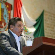Propone diputado Tomás Basaldú fortalecer  órganos administrativos del Congreso de Oaxaca
