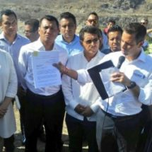 """Realizan diputados locales visita histórica  a la Presa """"Benito Juárez"""" de Jalapa del Marqués"""