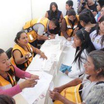 Gobierno de Xoxocotlán brinda servicios de asistencia social gratuita en la colonia Anáhuac