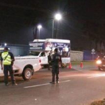 APLICA POLICÍA VIAL ESTATAL OPERATIVO ALCOHOLÍMETRO SIMULTÁNEO EN LA CIUDAD CAPITAL Y EN TUXTEPEC