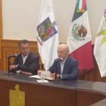 Fernando Elizondo Barragán renuncia al gobierno de Nuevo León