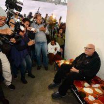 Isidro Pastor mantiene huelga de hambre en el IEEM