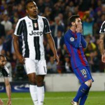 Barça agota su suerte en Champions y es eliminado por la Juve
