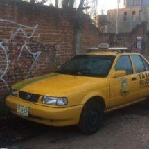 RECUPERA DRAI TAXI ROBADO CON LUJO DE VIOLENCIA DURANTE LA MADRUGADA