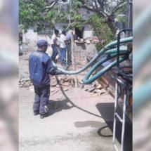 Suministran de agua a hogares del puerto