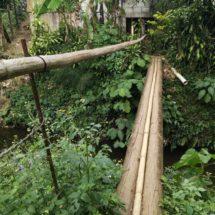 Piden familias arreglar puente
