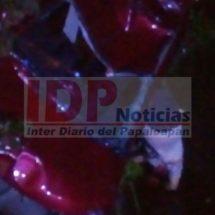 En Acatlán… Muere comerciante en trágica volcadura