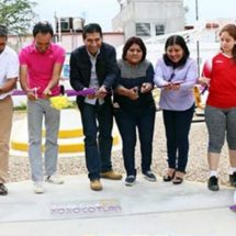 Con espacios al aire libre, Alejandro López Jarquín promueve el deporte en Xoxocotlán