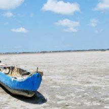 Se «encoje» laguna de San Mateo del Mar en Oaxaca