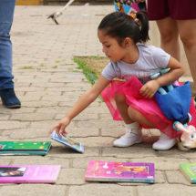 Con más de 5 mil ejemplares superan Kilómetro del Libro en Xoxocotlán