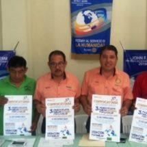 Anuncia Club Rotario Tuxtepec tercer paseo ciclista por la salud